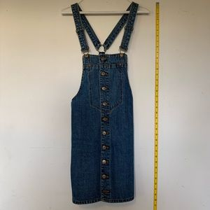 ZARA denim overalls dress 👗
